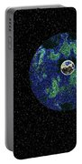 Earth To The Moon Portable Battery Charger