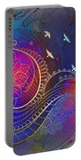 Earth, Zen, Peace 2 Portable Battery Charger