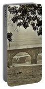 East River Drive - Philadelphia Portable Battery Charger by Bill Cannon