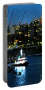 East River Traffic 2 New York Portable Battery Charger