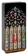 East Stained Glass Window Christ Church Cathedral 1 Portable Battery Charger