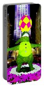 Easter Abstract Portable Battery Charger