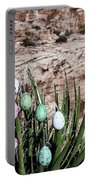 Easter Eggs On The Tree Portable Battery Charger