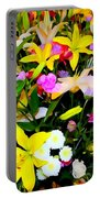 Easter Flowers Portable Battery Charger