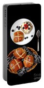 Easter Hot Cross Buns  Portable Battery Charger
