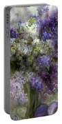 Easter Lilacs Portable Battery Charger