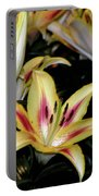 Easter Lilies Portable Battery Charger