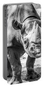 Eastern Black Rhinoceros Portable Battery Charger