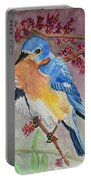 Eastern Bluebird Vertical  Portable Battery Charger