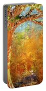 Eastern Sierra Fall Tree Portable Battery Charger