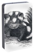Eastern Spotted Skunk Portable Battery Charger