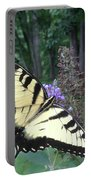 Eastern Tiger Swallowtail Sipping Nectar Portable Battery Charger