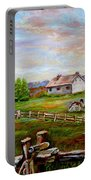 Eastern Townships Quebec Country Scene Portable Battery Charger