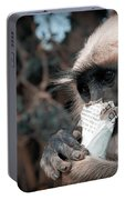 Eating Monkey Portable Battery Charger