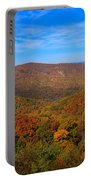 Eaton Hollow Overlook On Skyline Drive In Shenandoah National Park Portable Battery Charger