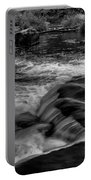 Eau Claire Dells Black And White Flow Portable Battery Charger