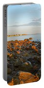 Ebb Tide On Cape Cod Bay Portable Battery Charger