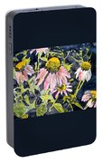 Echinacea Coneflower 2 Portable Battery Charger
