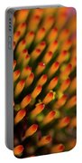 Echinacea Coneflower Abstract Portable Battery Charger