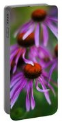 Echinacea Crowd Portable Battery Charger