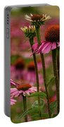 Echinacea Front And Center Portable Battery Charger