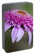 Echinacea Pink Double Delight Portable Battery Charger