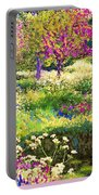 Echoes From Heaven, Spring Orchard Blossom And Pheasant Portable Battery Charger