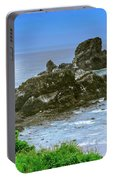 Ecola State Park Oregon 2 Portable Battery Charger by Shiela Kowing
