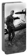 Eddie Rickenbacker - Ww1 American Air Ace Portable Battery Charger