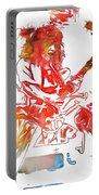 Eddie Van Halen Paint Splatter Portable Battery Charger