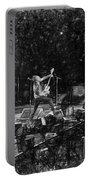 Eddie Vedder Rock God Pose Pearl Jam Portable Battery Charger