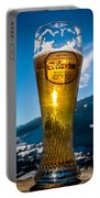 Edelweiss Beer In Kirchberg Austria Portable Battery Charger
