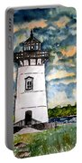 Edgartown Lighthouse Martha's Vineyard Mass Portable Battery Charger