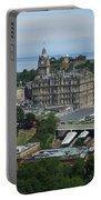 Edinburgh Castle View #3 Portable Battery Charger