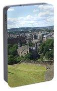 Edinburgh Castle View #6 Portable Battery Charger