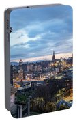 Edinburgh From Calton Hill Portable Battery Charger