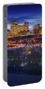 Edmonton Winter Skyline Portable Battery Charger