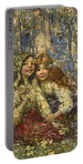 Edward Atkinson Hornel 1864-1933 The Bluebell Wood Portable Battery Charger