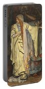 Edwin Austin Abbey 1852-1911 King Lear, Cordelias Farewell Portable Battery Charger