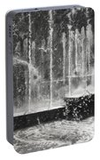Effervescence Fountain In Milano Italy Portable Battery Charger