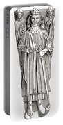 Effigy Of King John On His Tomb In Portable Battery Charger