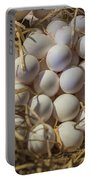 Egg Stand - La Bouqueria - Barcelona Spain Portable Battery Charger