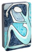 Eggtree Abstract Art Figure Portable Battery Charger
