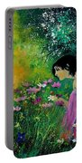 Eglantine With Flowers Portable Battery Charger