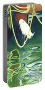 Egret On A Rope Portable Battery Charger