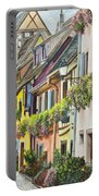Eguisheim In Bloom Portable Battery Charger