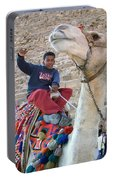 Egypt - Boy With A Camel Portable Battery Charger