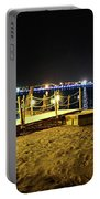 Egypt At Night Portable Battery Charger