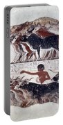 Egypt: Tomb Painting Portable Battery Charger