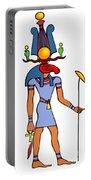 Egyptian God - Khensu Portable Battery Charger